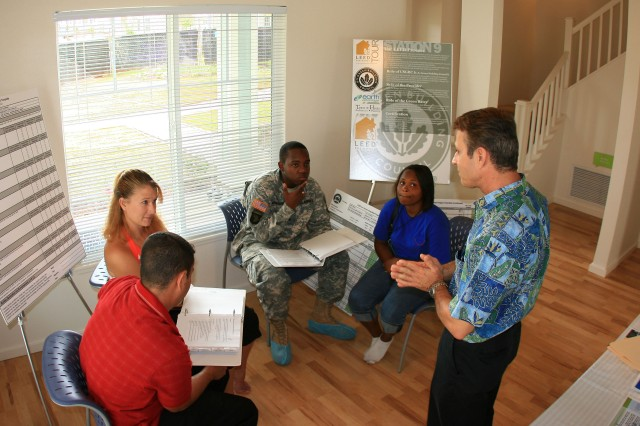 Army families go green with Island Palm Communities