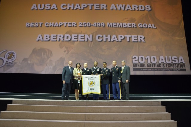 AUSA recognizes its Aberdeen chapter
