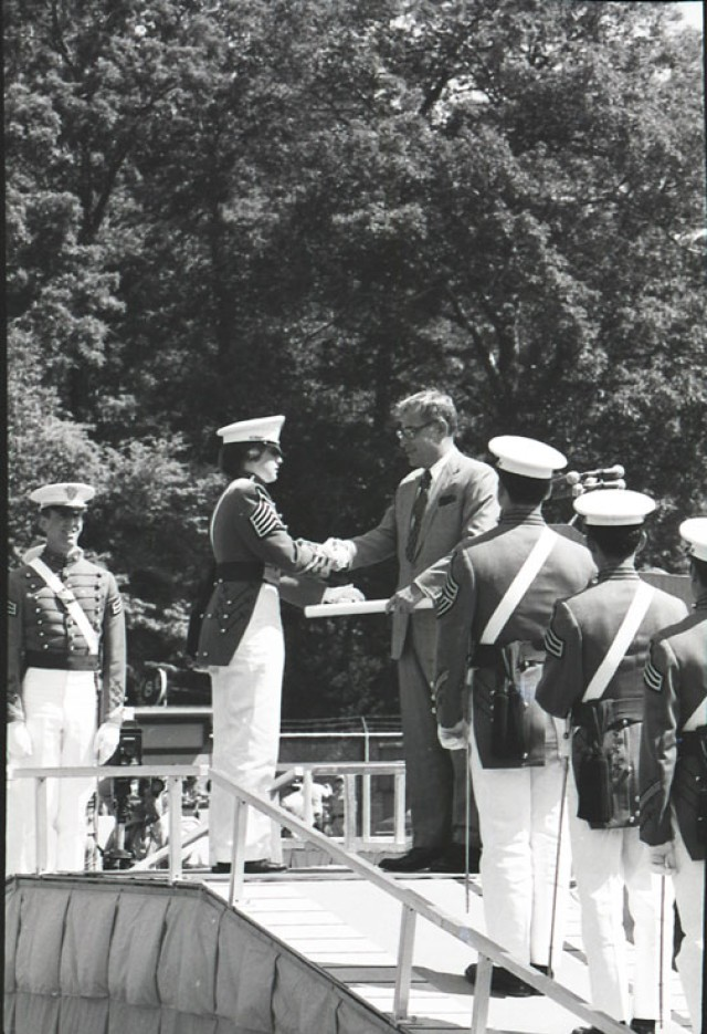 The first women of West Point