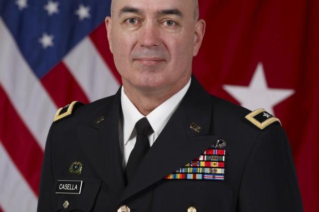 Maj. Gen. Bruce Casella