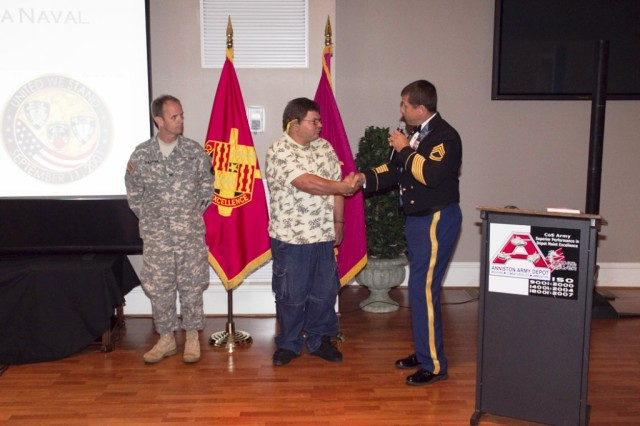 Anniston Army Depot hears from former Golden Knight