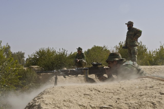 Afghan, Coalition forces find firefights, IEDs in Panjwa'i