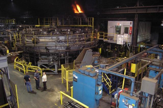 Forging Ahead at Scranton Army Ammunition Plant