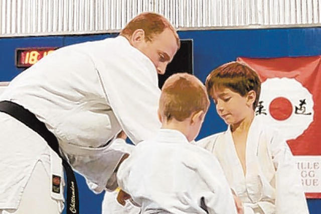 Fort Bragg Soldier coaches youth in art, sport of judo