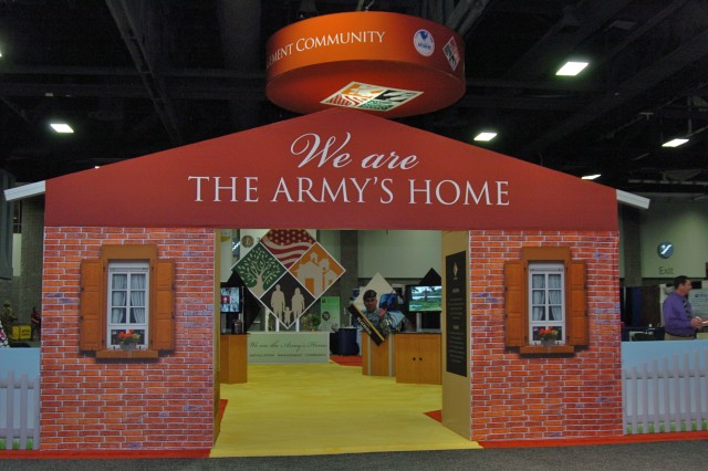 2010 IMCOM exhibit welcomes all to the Army's home