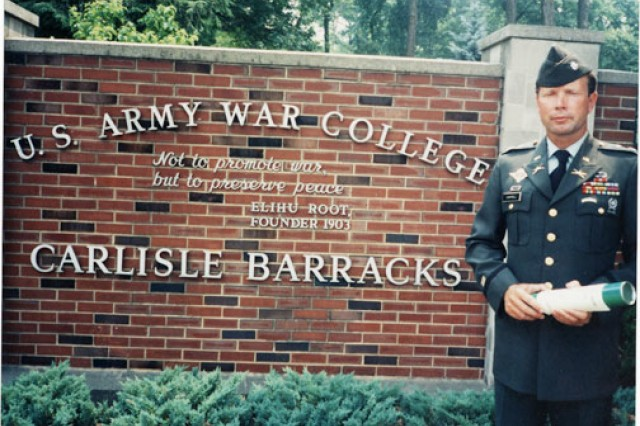 Then Lt. Col. Charles C. Campbell at the time of his graduation from the Army War College in 1991.