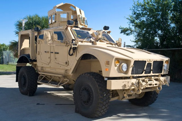 Mine Resistant Ambush Protected vehicles have undergone extensive testing at Army Test and Evaluation Command test centers, including those of the Army Developmental Test Command. ATEC has deployed people to the combat theater to conduct forward assessments of MRAP performance.