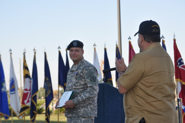 Quiet hero awarded Soldier's Medal