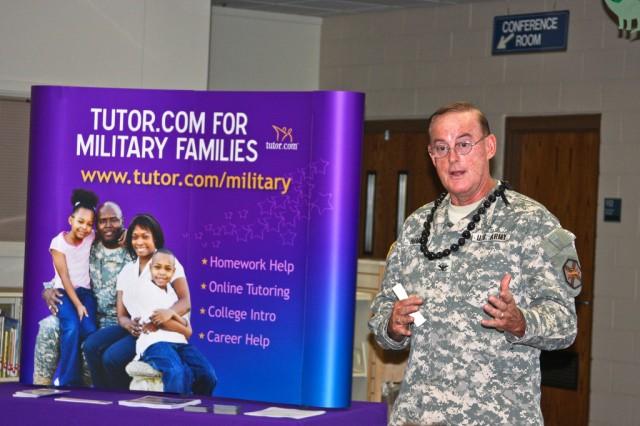 Sgt. Yano Library hosts Tutor.com presentation, training