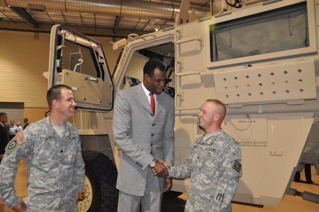 Luncheon kicks off 'Celebrate America's Military' activities