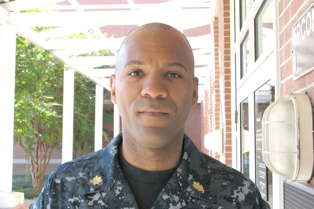 """""""How do you plan to celebrate Veterans Day'""""  """"I'll probably just spend time with my Family, have some quiet remembrance,  and enjoy that I'm here."""" - Lt. Cmdr. Mortez Williams, Medical Service Corps officer U.S."""
