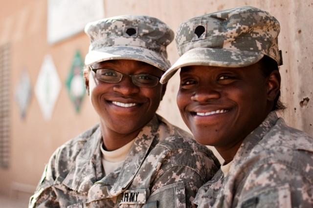 Twin sisters, Chesapeake, Va., natives serve in Iraq