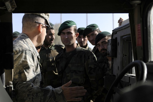 US, Afghan air forces partner for security drills
