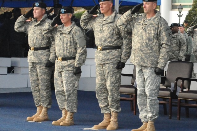 Eighth Army holds change of command ceremony