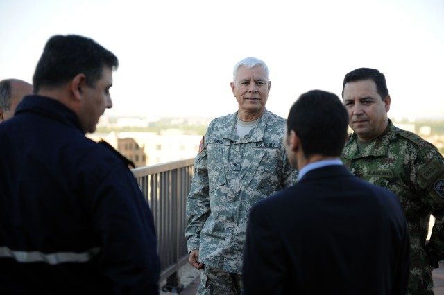 Partner Nation Liaison Officers Assigned to SOUTHCOM Visit U.S. Army South