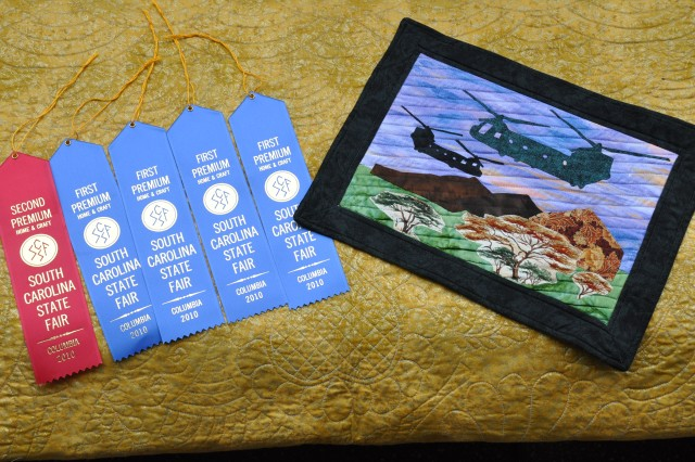 Quilters honor fallen Soldiers