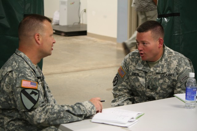 Soldiers prepare for deployment BCTP