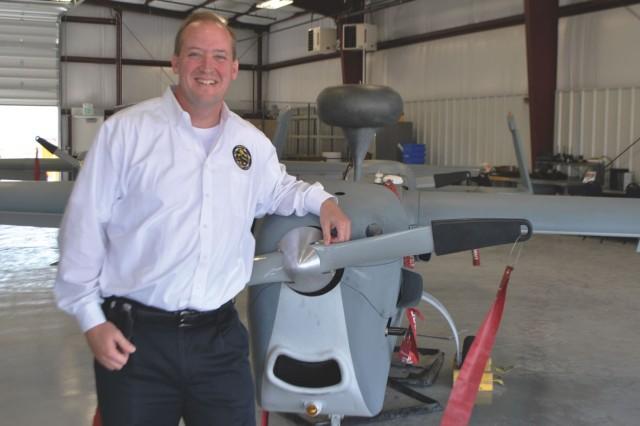 Army UAS expert wins DOD civilian service award