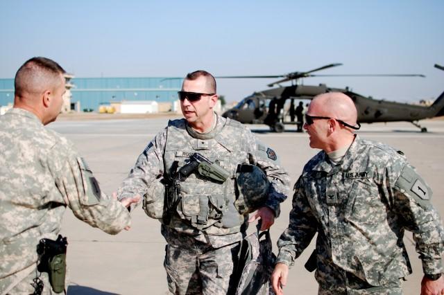Brig. Gen. Rossi visits Camp Taji