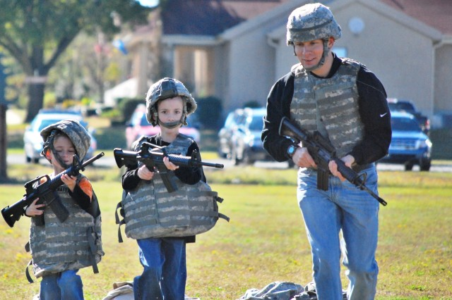 Fort Bragg military police share a day with Family during 'Enforcer Day'