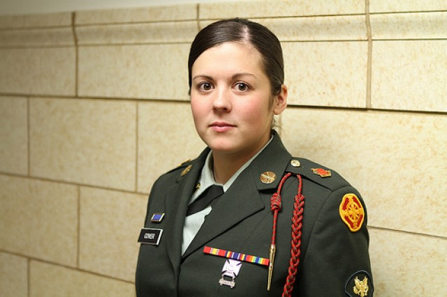 Spc. Devon Cover was named Fort Sill's Soldier of the Quarter