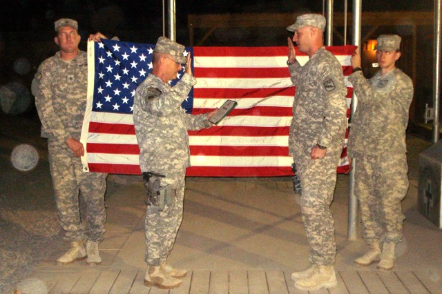 An Afghanistan Reenlistment