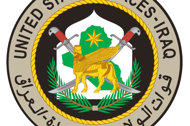 US Forces-Iraq seal