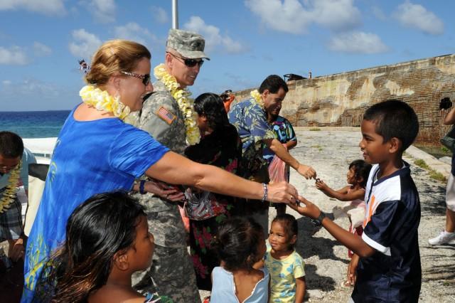 Ambassador addresses veterans, challenges of Marshall Islands