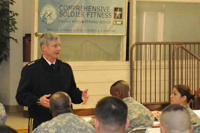 U.S. Army holds first master resilience course in Korea
