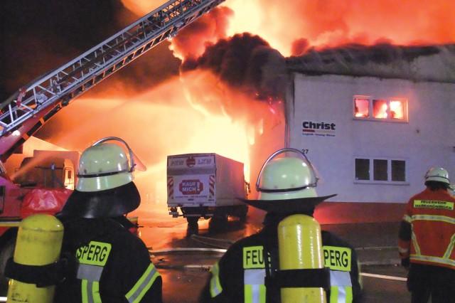 Warehouse blaze incinerates household goods, ignites community support
