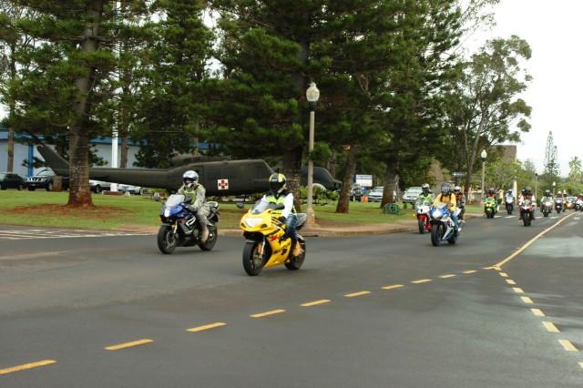 25th CAB participates in Veterans' Day ride