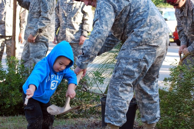 National Public Lands Day event dedicated to fallen Fort Bragg Soldier