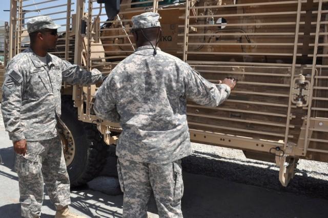 USF-A Command Sgt. Maj. Howard Visits 401st at Bagram