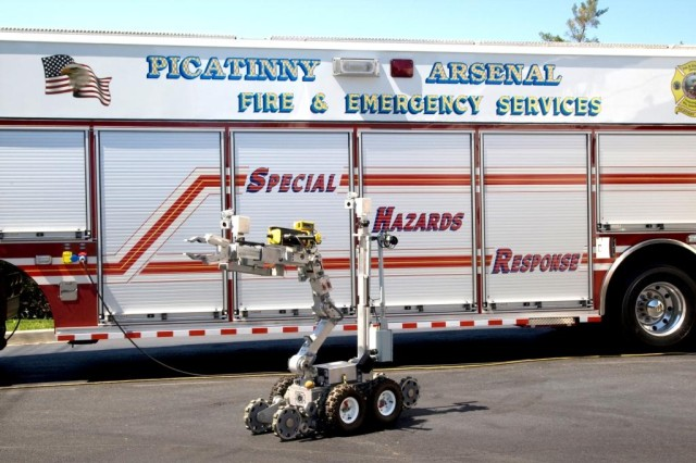 Hazmat vehicle
