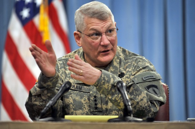 Ham testifies at AFRICOM confirmation hearing