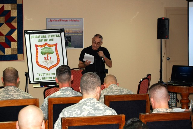 Army chaplains attend Spiritual Fitness Initiative conference in Iraq