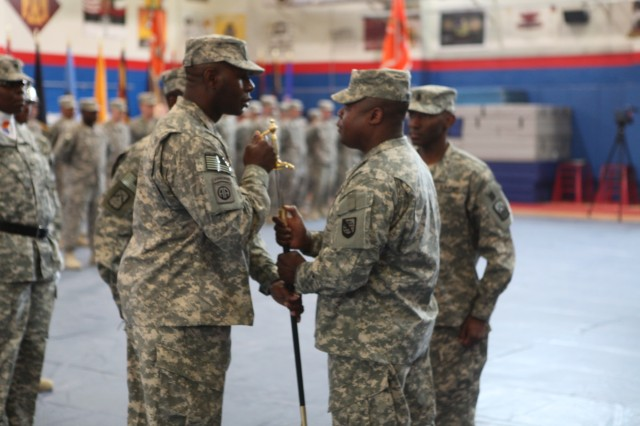 160th Signal Brigade Change of Responsibility