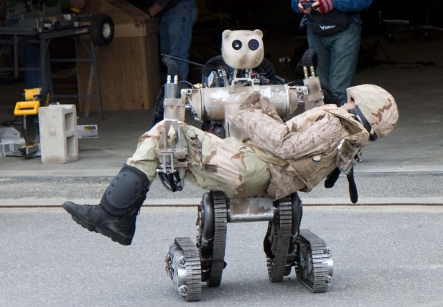 Battlefield Extraction-Assist Robot