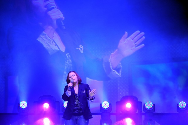 Army wife Gomez wins Operation Rising Star military singing contest