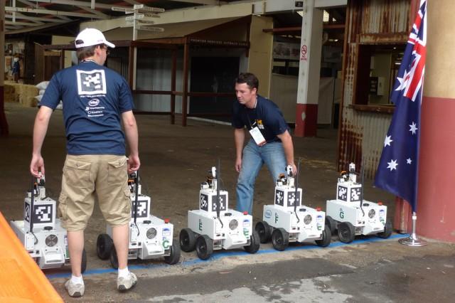 Team Michigan wins worldwide robotics competition