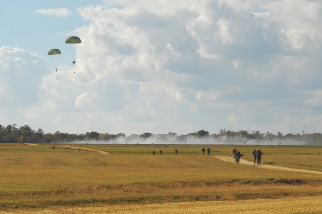 Airborne jump