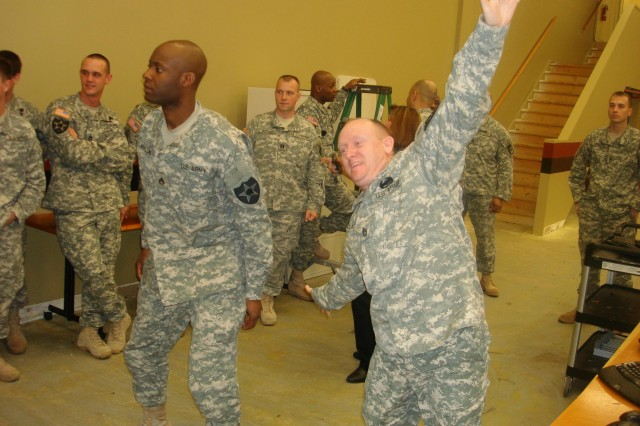 I Corps Soldiers visit STTC