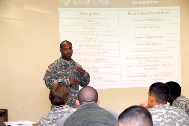 New training teaches troops resiliency, positive attitude