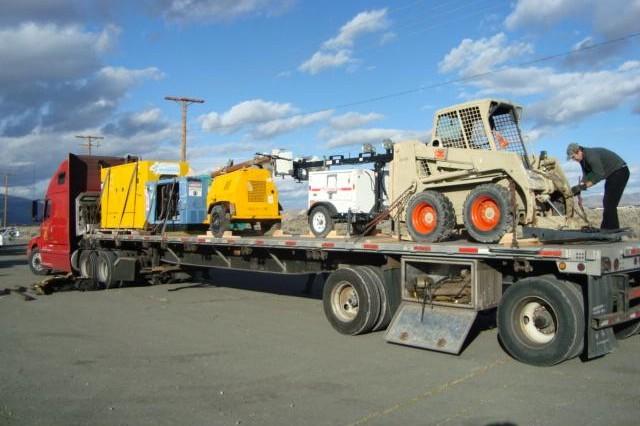 Equipment for Missouri