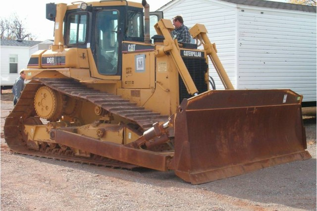 Bulldozer for Oklahoma