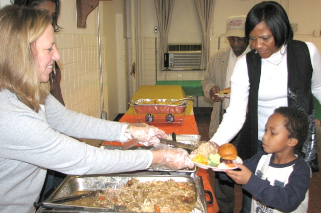 Chapel sponsored luncheon provides food, fellowship