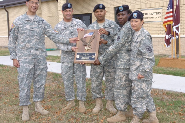 Fort Hood WTB Receives Retention Honors