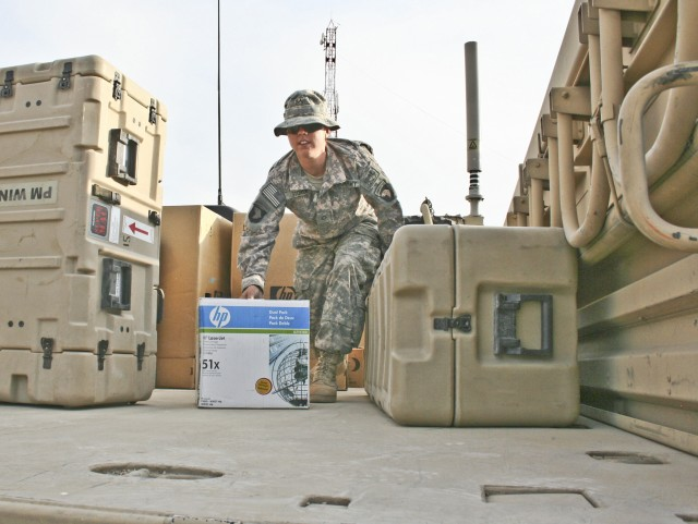 FOB Connolly Soldiers keep servicemembers rolling