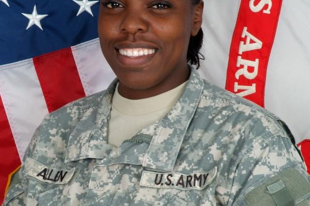 Staff Sgt. Shantae R. Allen, 412th Contracting Support Brigade, Fort Sam Houston, Texas