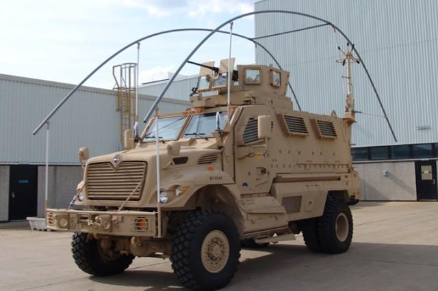 MRAP Overhead Wire Mitigation Kit